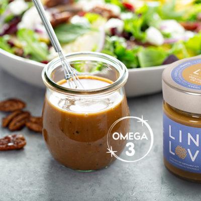 Mettez des Oméga 3 dans vos plats du quotidien avec LIN LOV Purée de graines de lin séchés