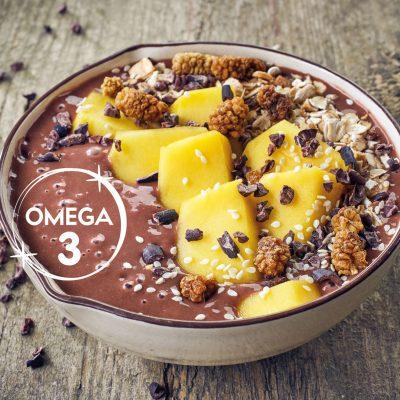 Démarrer la journée en faisant le pleinOméga 3 au petit-déjeuner avec LIN LOV Trio Cacao Coco