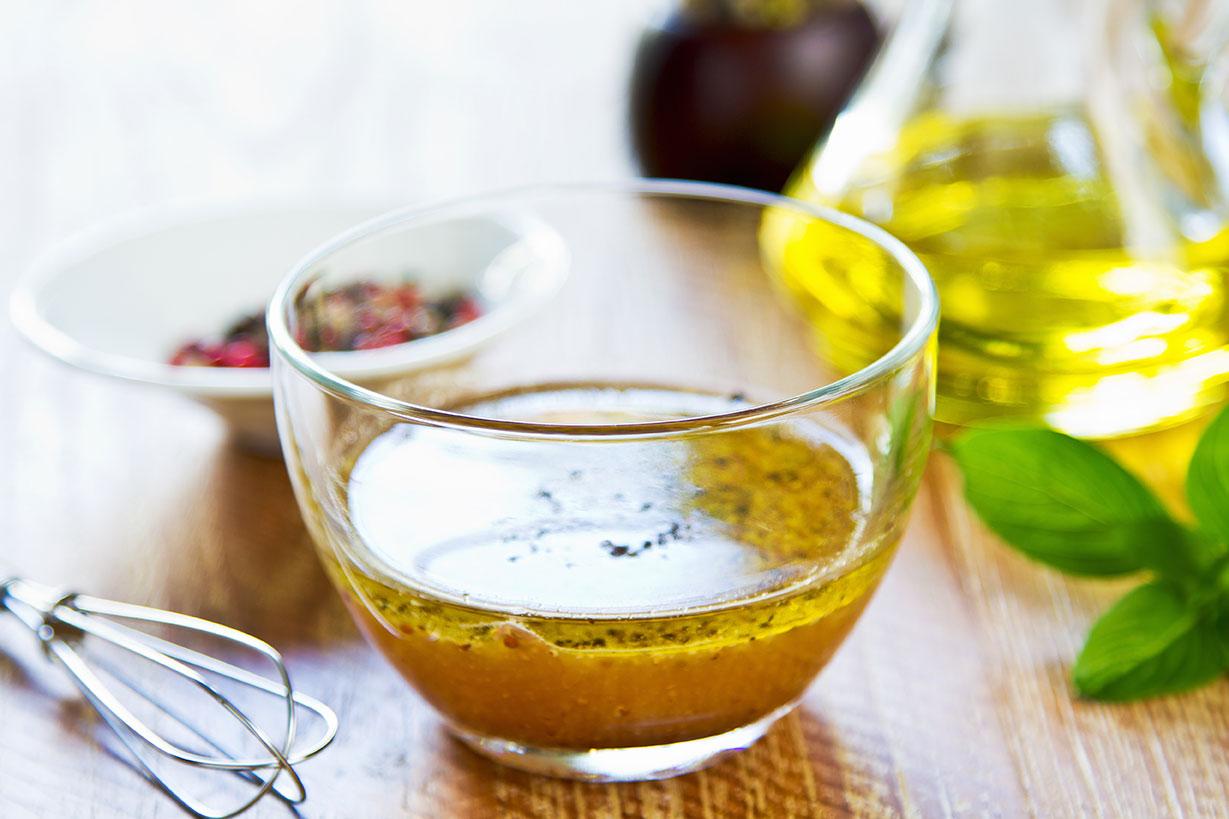 LIN-LOV est idéal dans des vinaigrettes agrémentées comme il vous plait